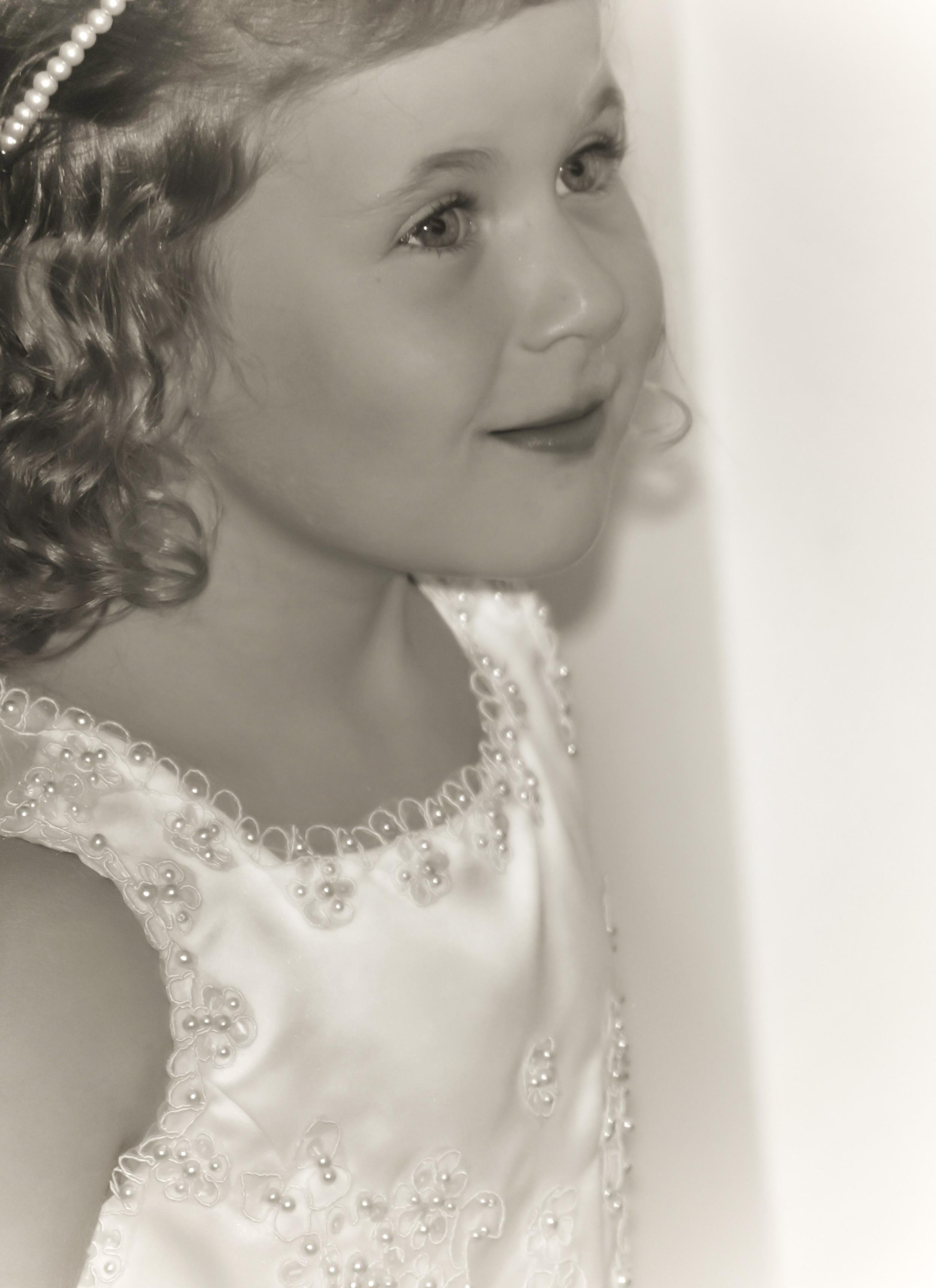 Emily   Flower girl, Terry wedding, 2012