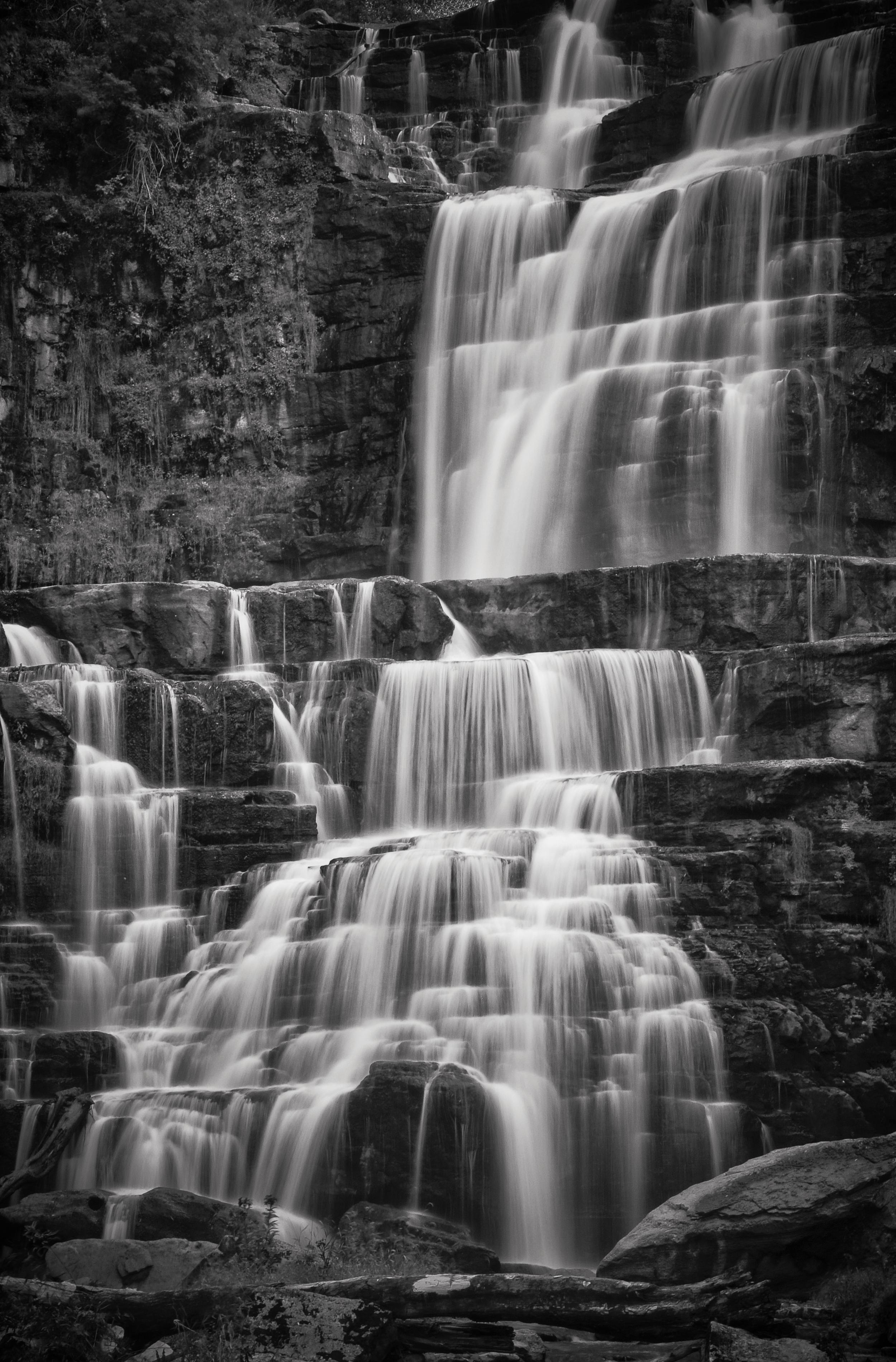 Tiers   Chittenango Falls, Chittenango, New York