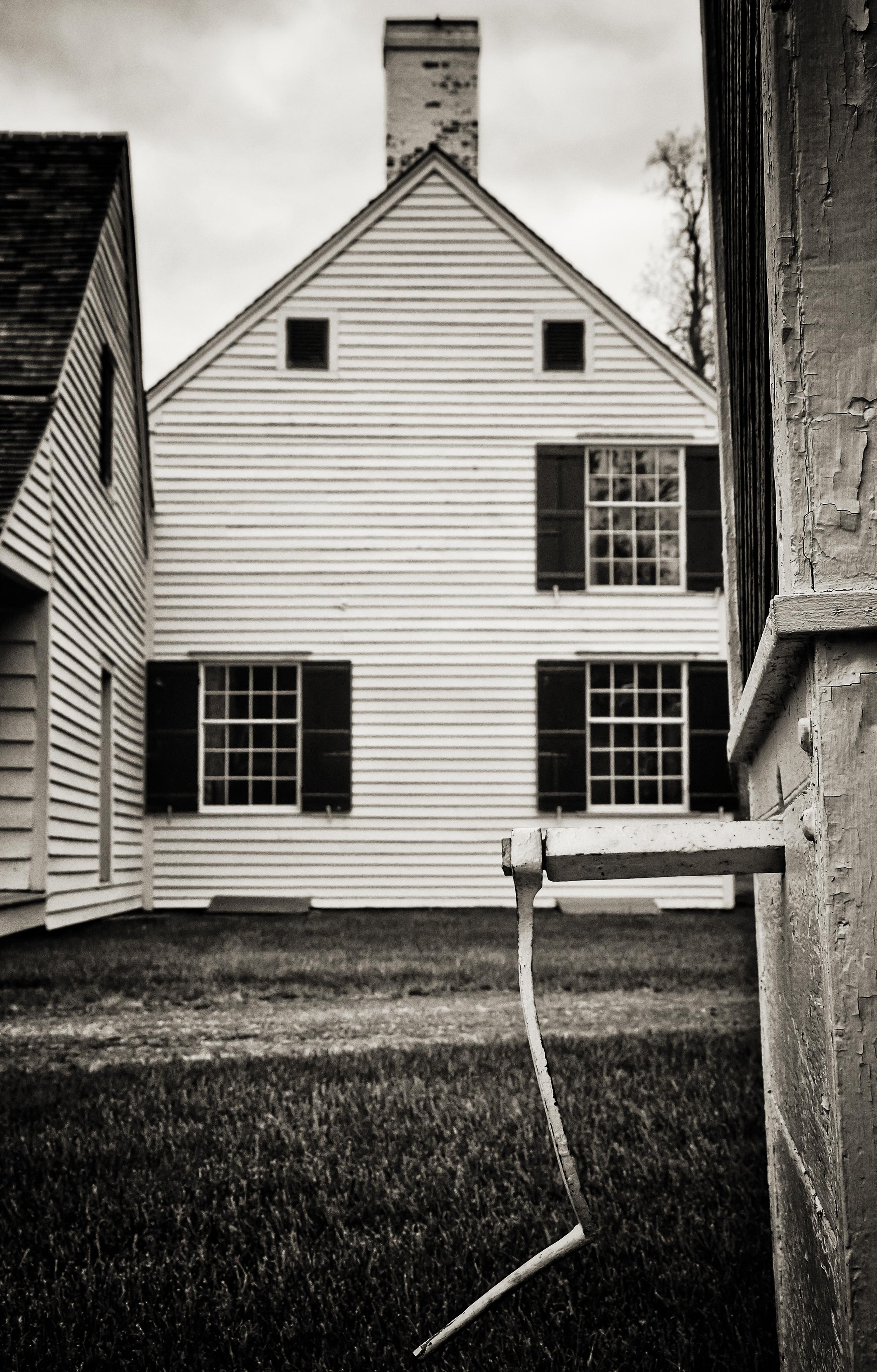 The Well, Schuyler House   Saratoga National Park, Schuylerville, New York