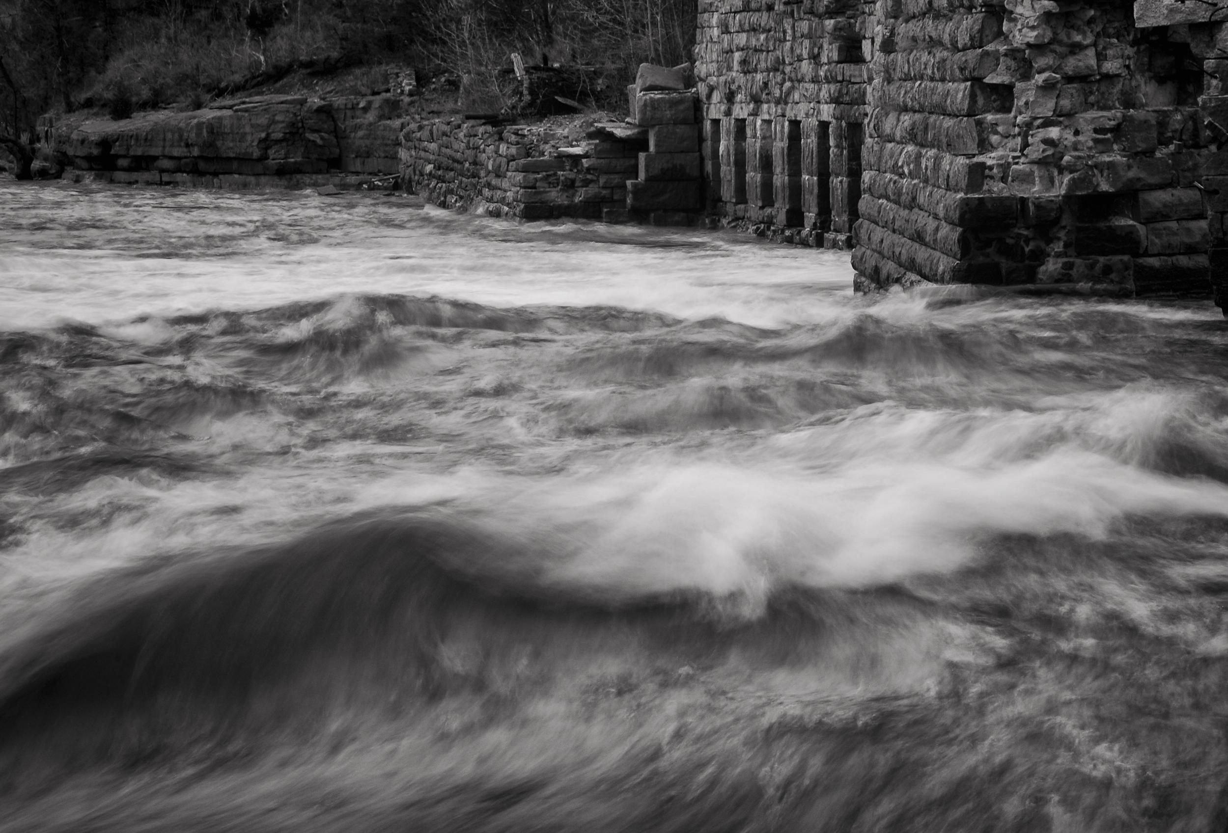 The Gates   Black River, near Watertown, New York