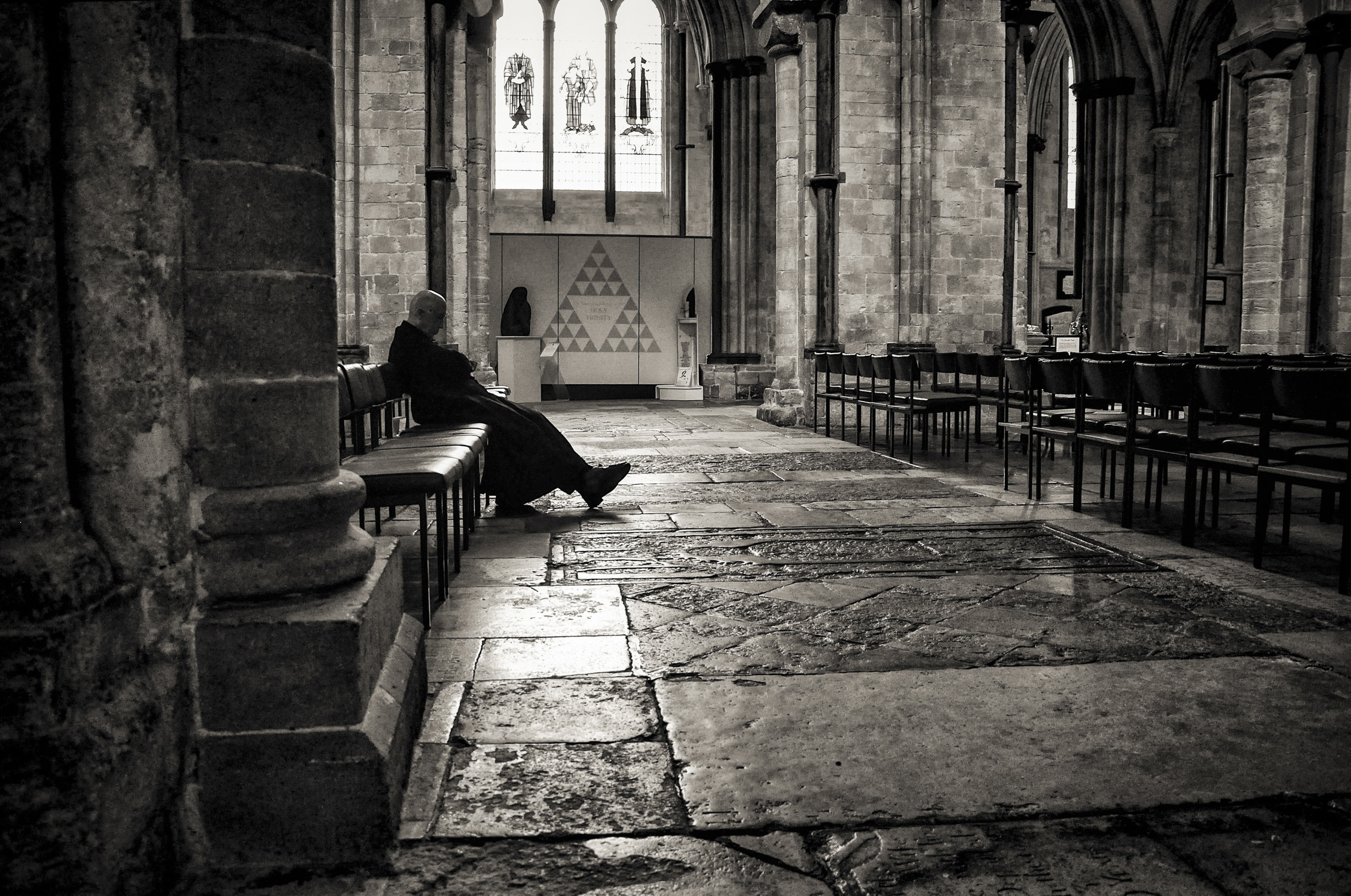 Rest   Chichester Cathedral, Chichester, England