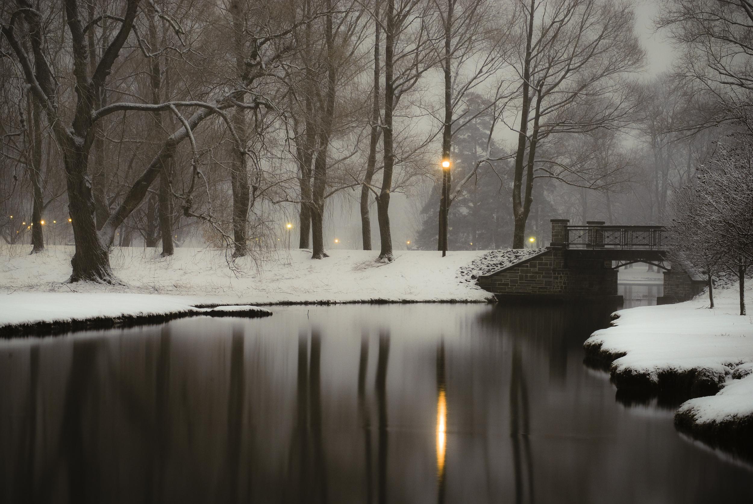 Path Lights   Hamilton, N.Y.
