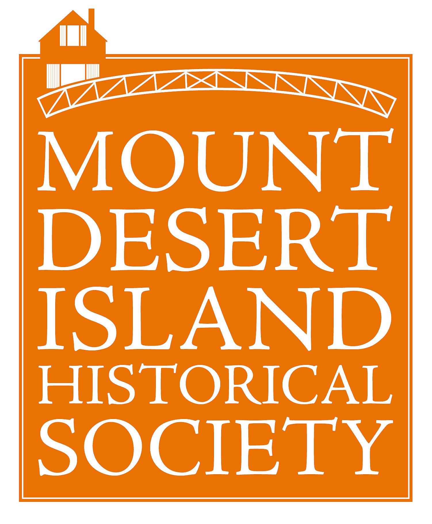 Logo for Mount Desert Island Historical Society   Mount Desert, Maine
