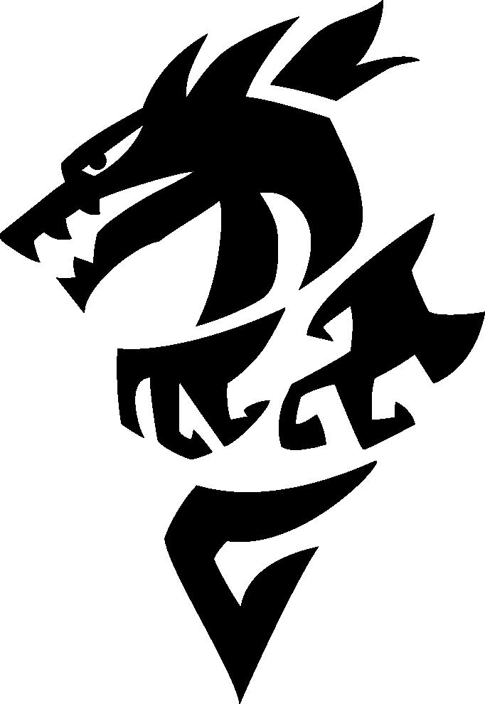 Left Facing Dragon Logo - Download PNG fileDownload AI fileDownload PDF file