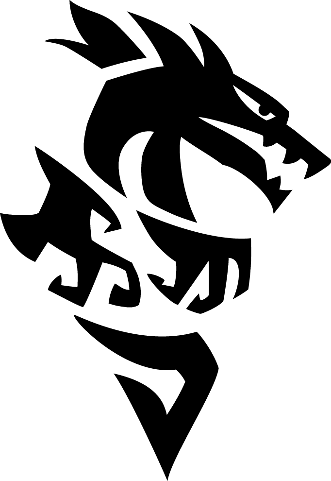 Right Facing Dragon Logo - Download PNG fileDownload AI fileDownload PDF file