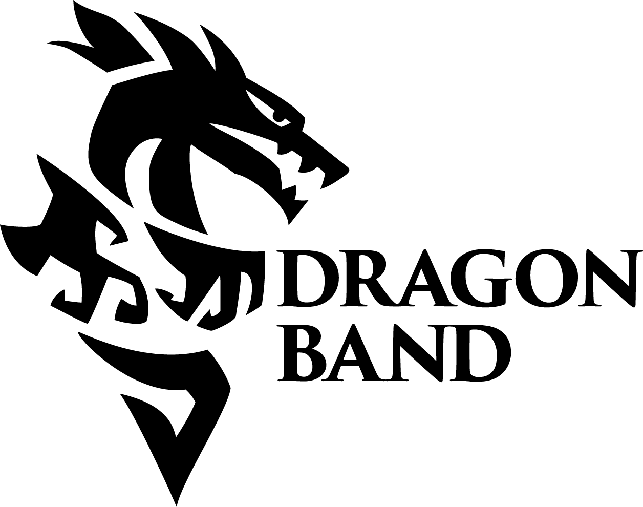 Dragon Band Logo - Download PNG fileDownload AI FileDownload PDF file