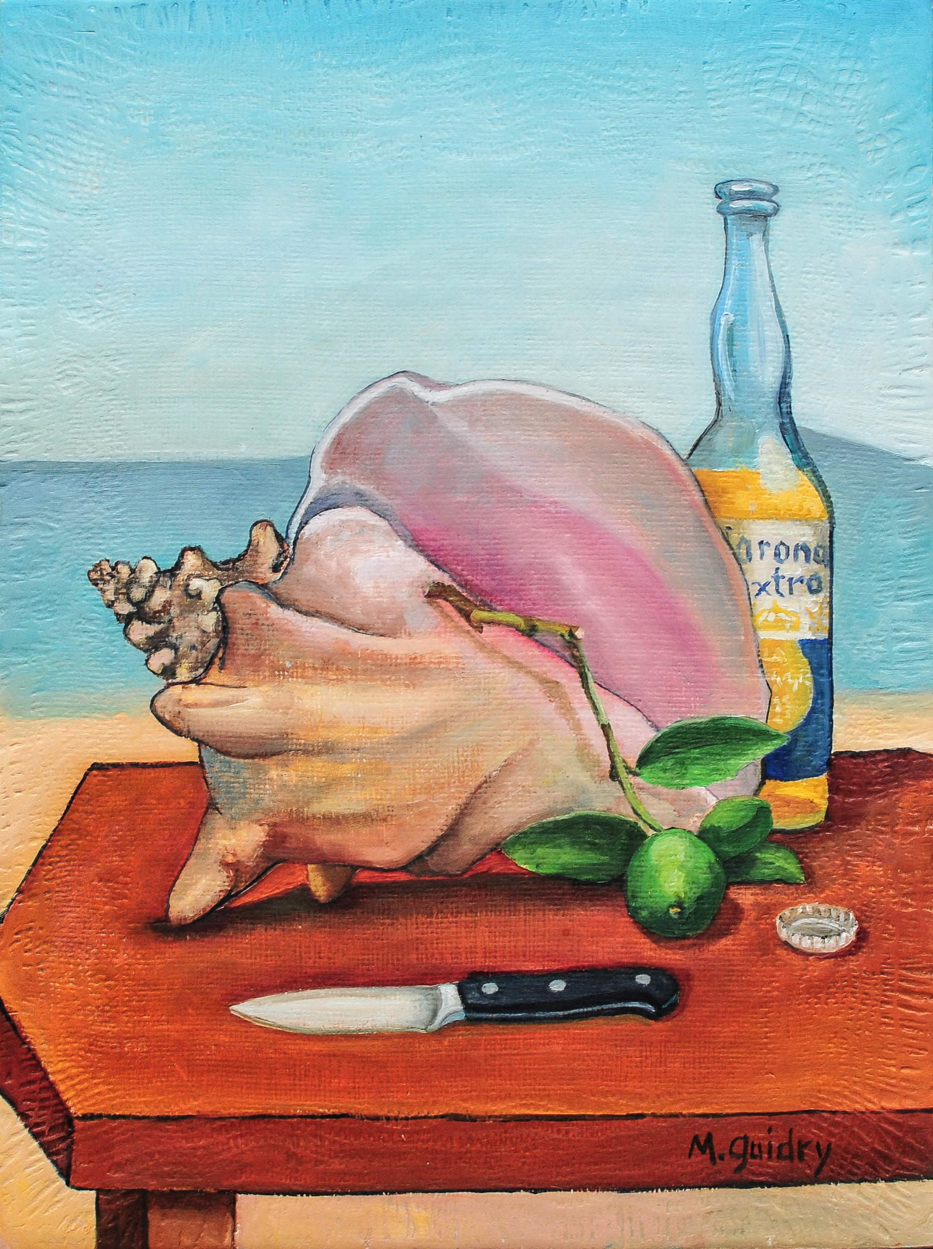 Still Life with Conch.