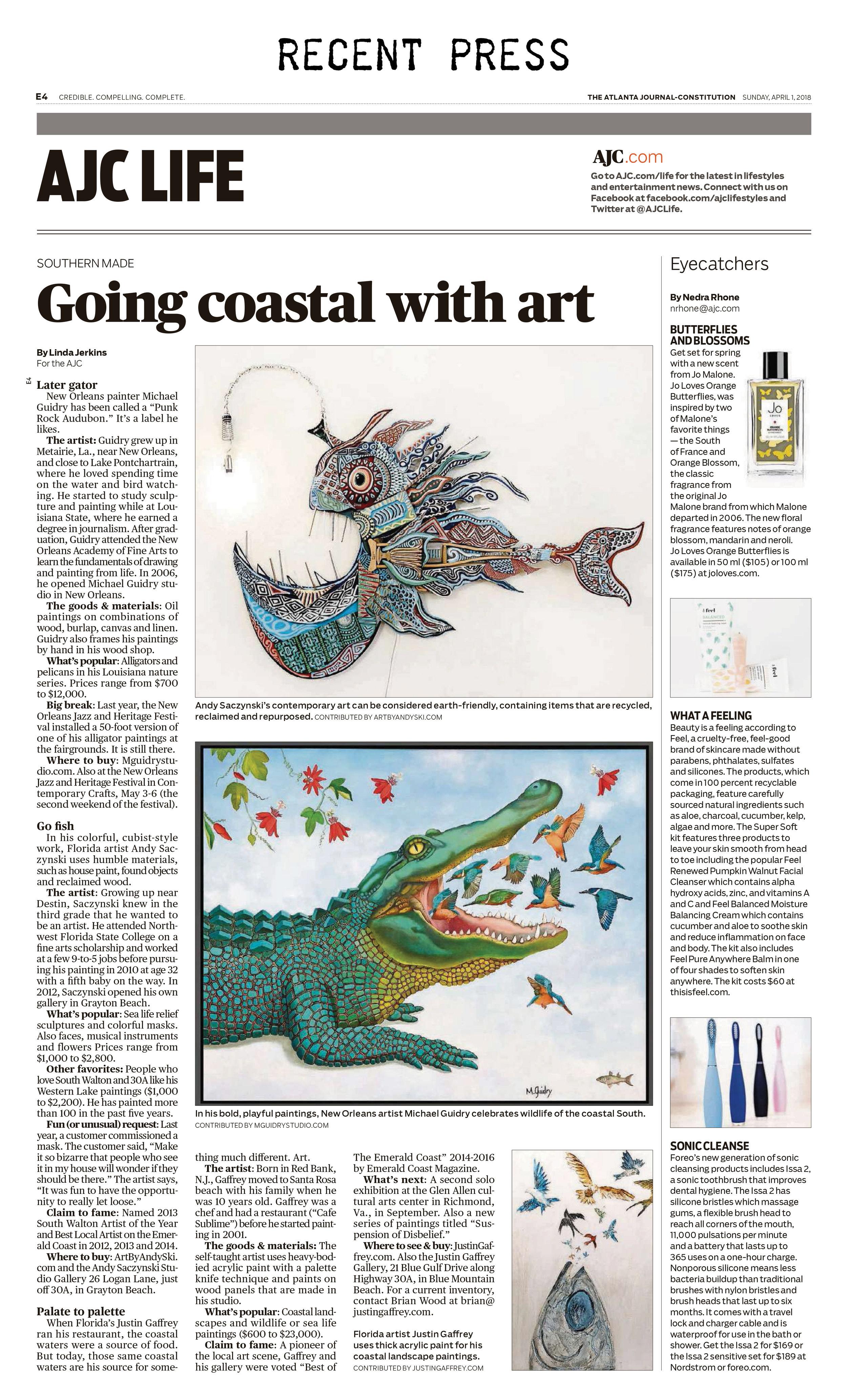 atlanta-journal-constitution-recent-press--m-michael-guidry-neworleans-louisiana-artist-studio-painter-alligator-interview-article.jpg