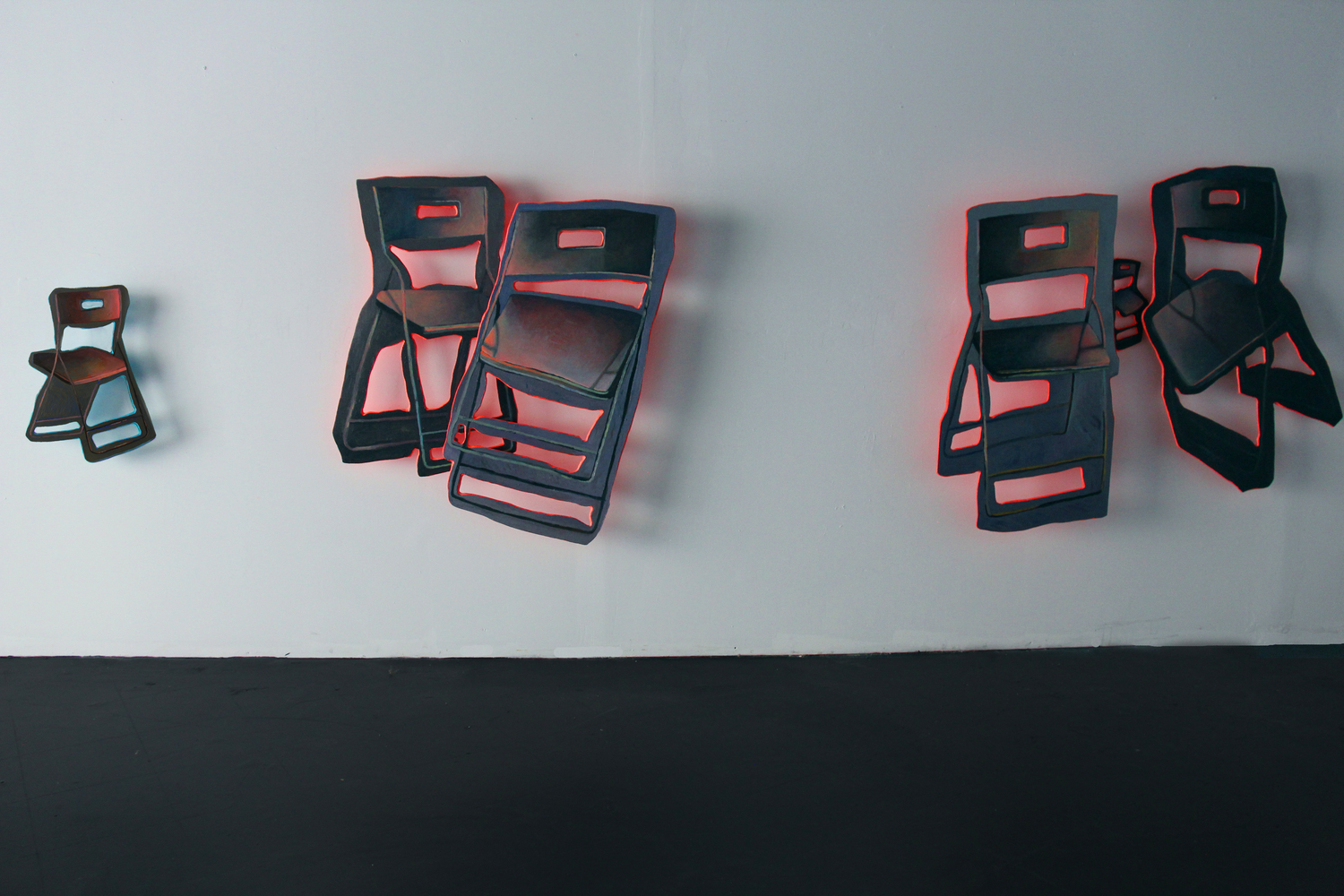 Lonely Chairs in a Dark Room