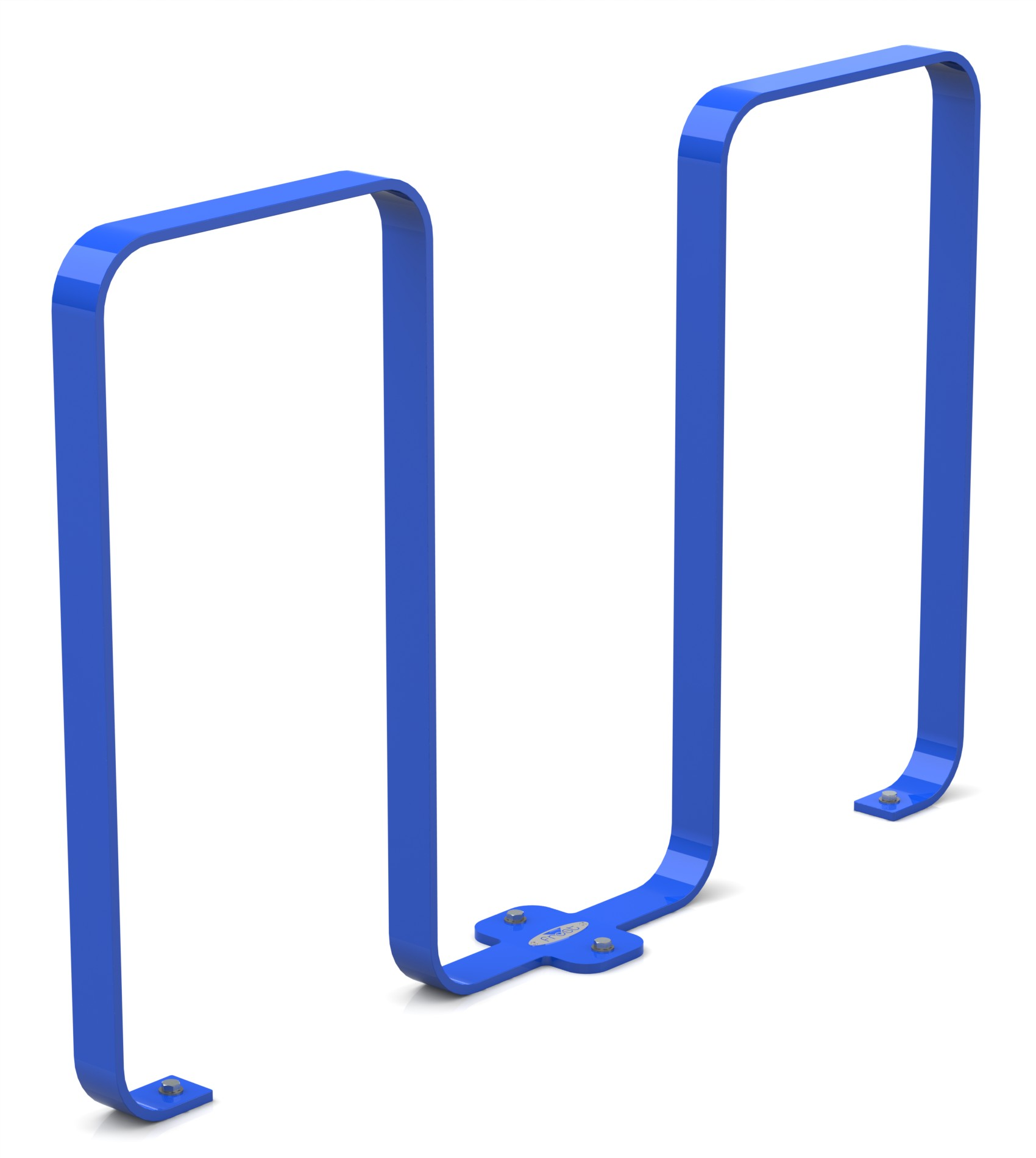 Frost 2080 - Linguini bike rack blue.JPG