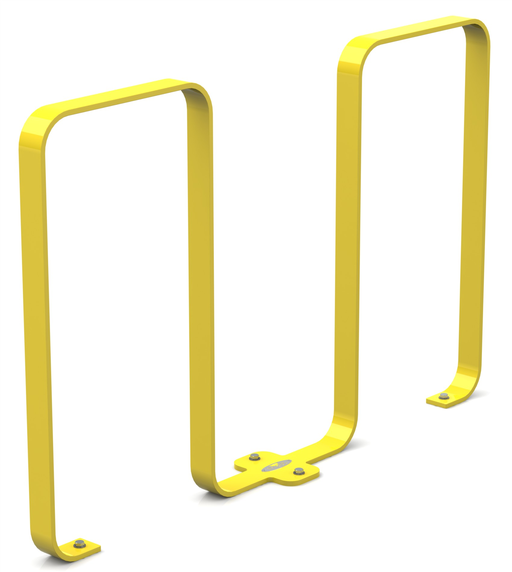 Frost 2080 - Linguini bike rack yellow.JPG