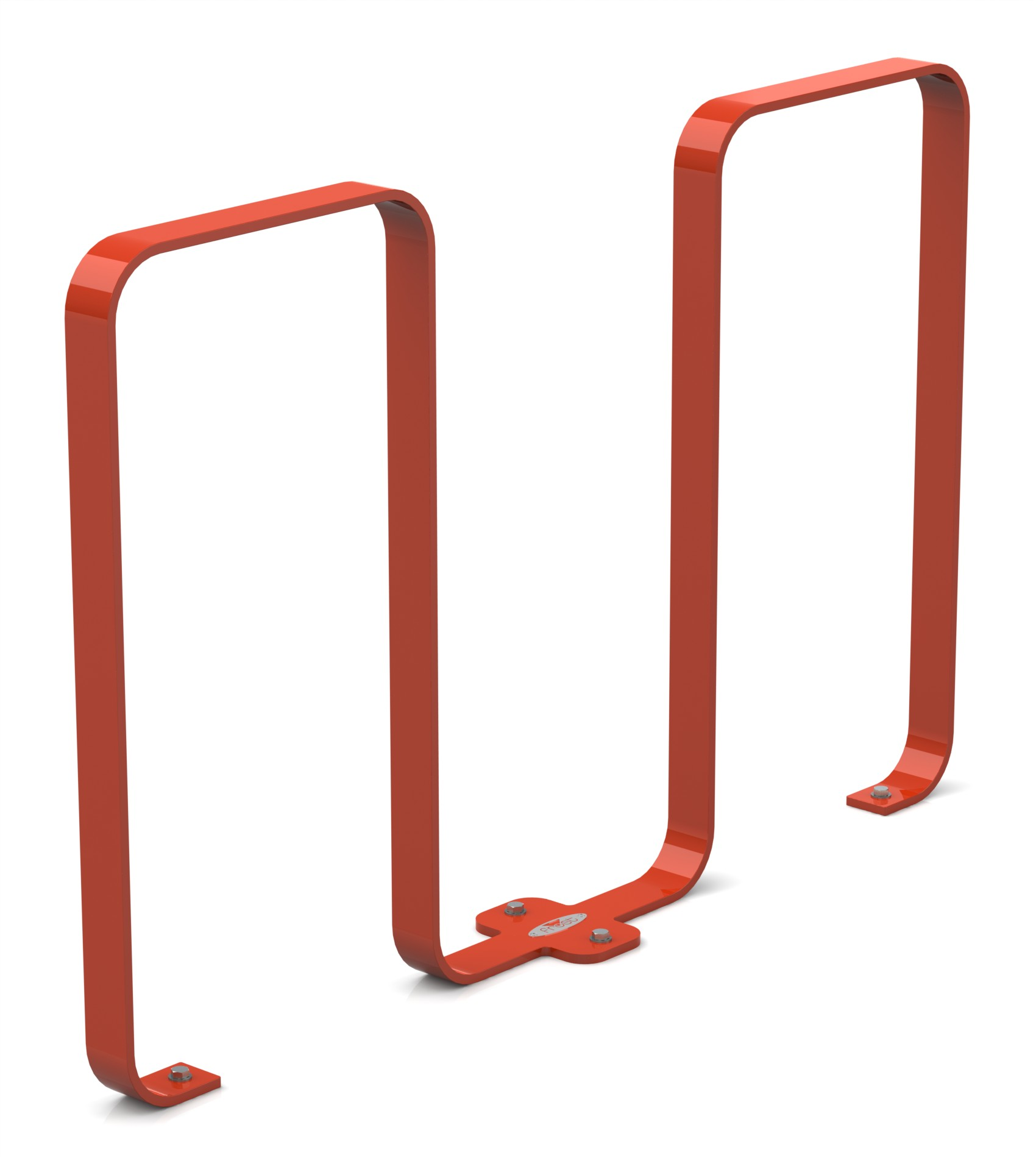 Frost 2080 - Linguini bike rack red.JPG