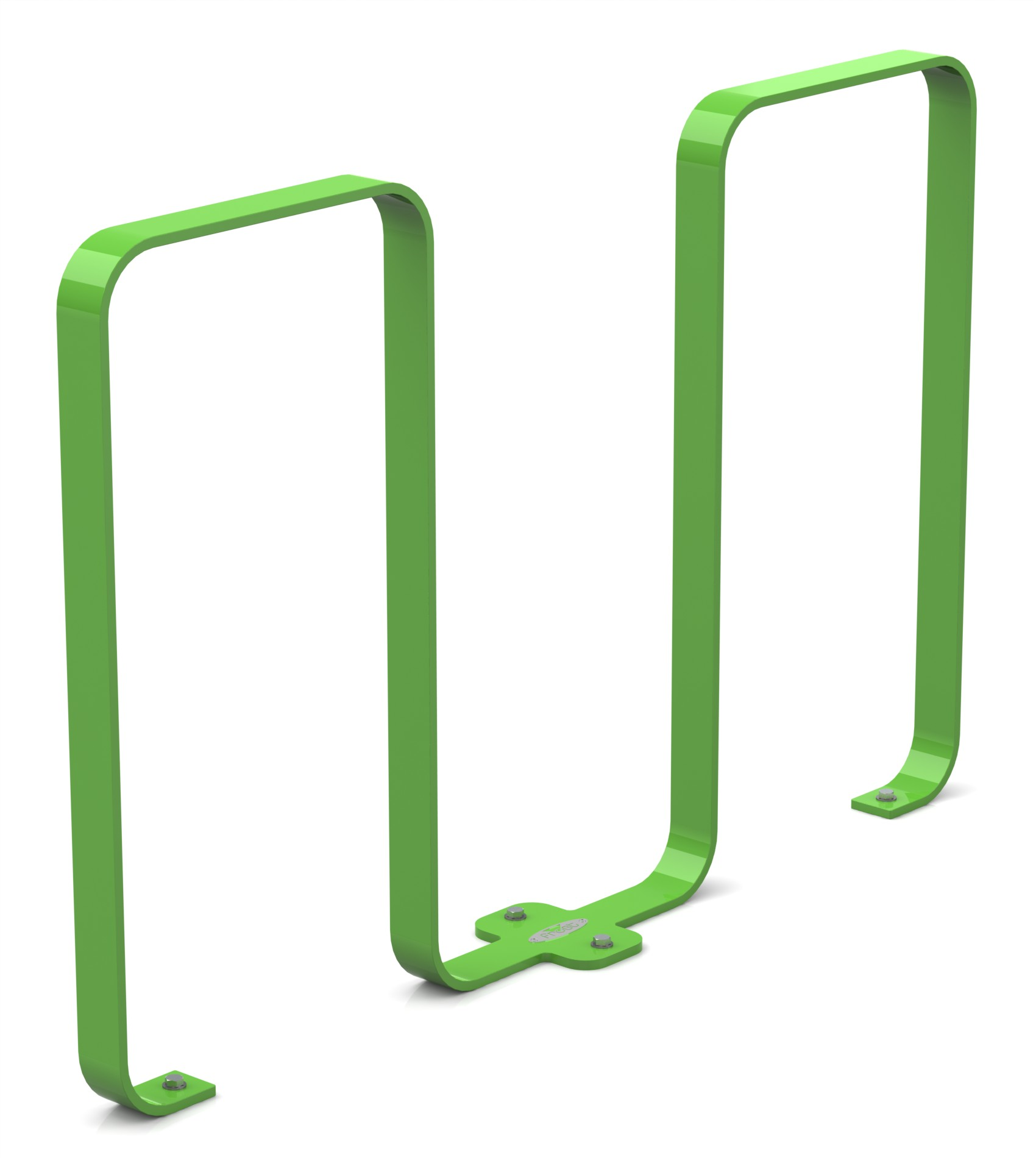 Frost 2080 - Linguini bike rack green.JPG