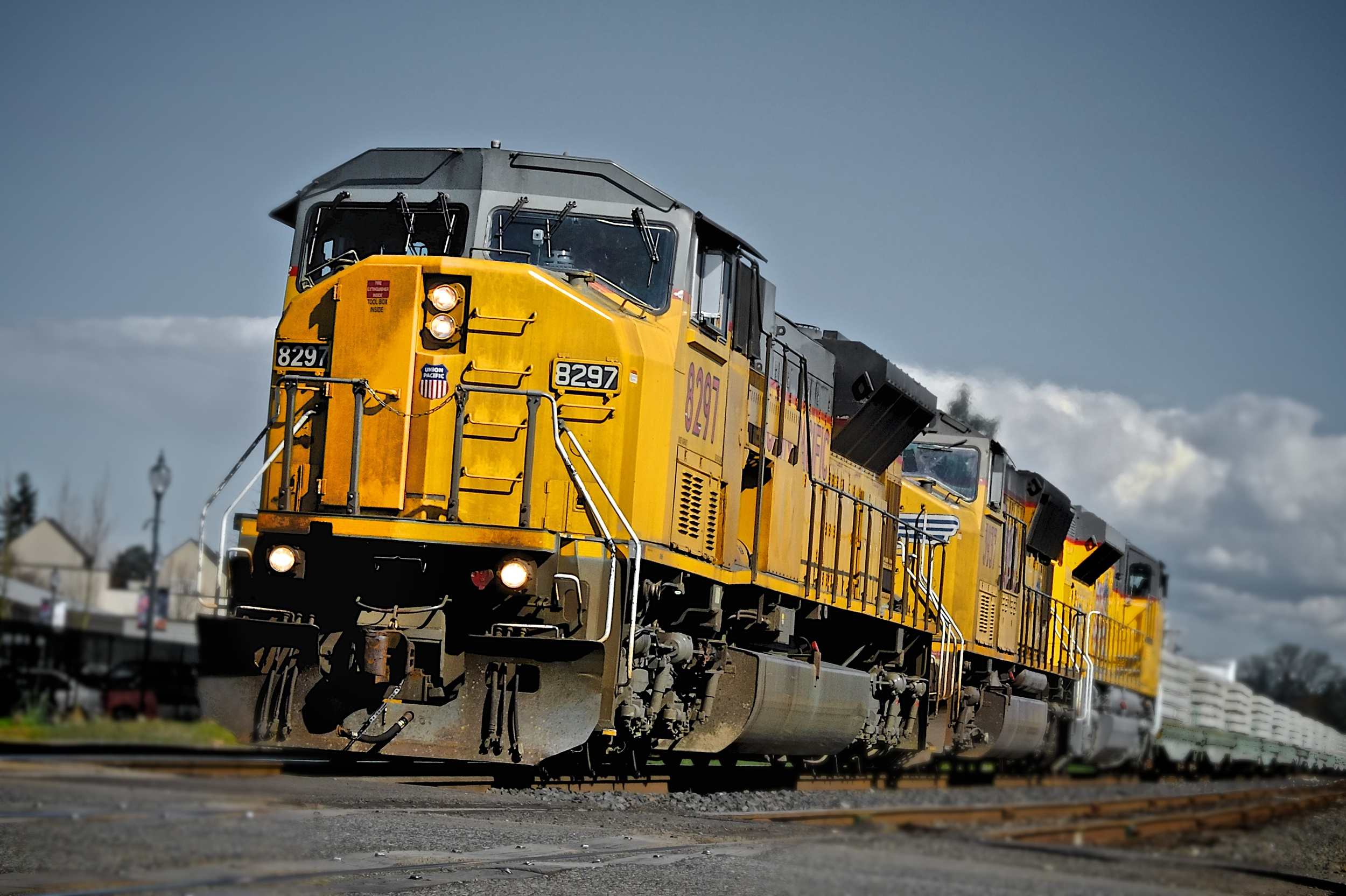 Union Pacific 8297, Canby, Oregon