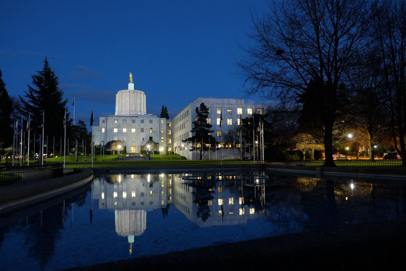Oregon Capitol Building, Salem, Oregon
