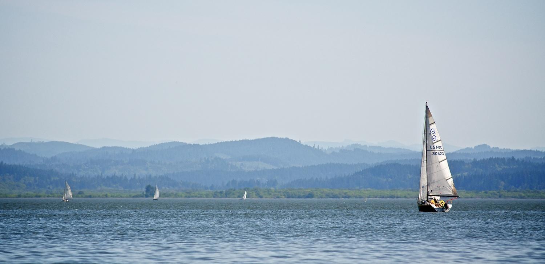 Sailing, Fern Ridge, Eugene, Oregon