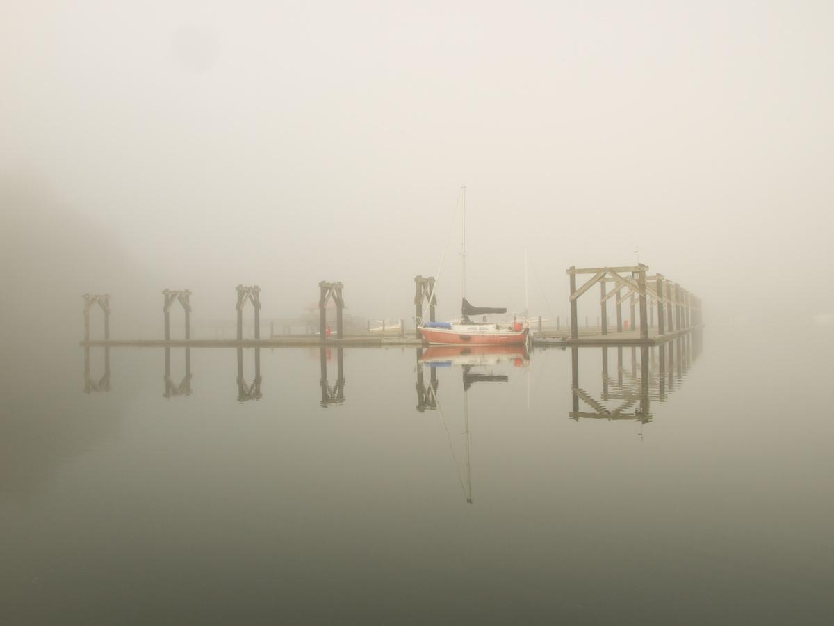 Quartermaster Harbor Fog, Puget Sound, Washington