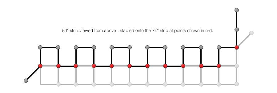 DIY Softbox Grid Diagram
