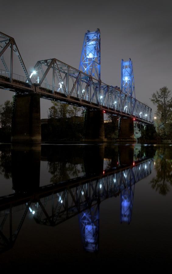 Union Street Railroad Bridge, Salem, Oregon