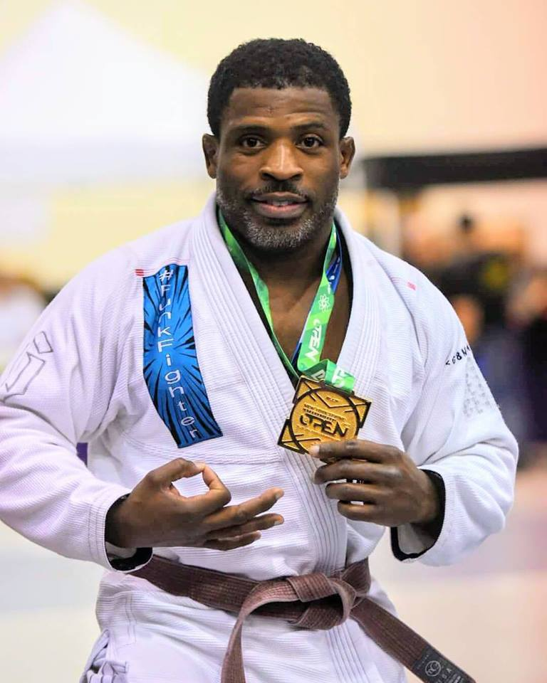 IBJJF World Masters 3 Absolute Runner Up Jay Marist.  photo credit:  Jay Marist