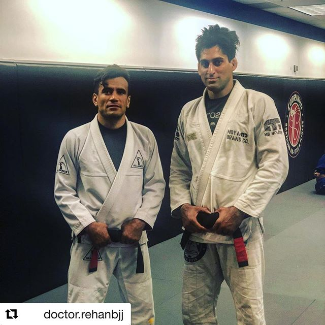 Congratulations to DPT athlete and friend @doctor.rehanbjj on his black belt — beyond well deserved and I know something you're ready for. Let's get weird.  #Repost @doctor.rehanbjj with @repostapp ・・・ Today, I was promoted to black belt by the  legendary @cobrinhacharles . I have been preparing for this moment my entire life. Let's get it on. #blackbelt