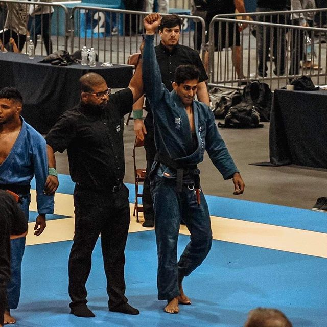"This is overdue on my part, but very noteworthy: A big congrats to @doctor.rehanbjj on his gold medal finish in Charlotte last week, qualifying him for Worlds 2020 at black belt. This is no small feat so soon into being a black belt either.  Him and I knew black belt was coming and that Worlds 2020 qualifying was going to be difficult- so the plan going in was to hit as many Opens out the gate as possible to get experience and put points on the board towards qualifying. I'm happy and very proud to say that happened in just 3 weeks as Rehan took gold in Charlotte last week, making him 2 for 3 on Gold medals at black belt— giving him the necessary points to qualify for Worlds 2020.  On the S&C side, this meant having him ""peaking"" during this 5 week period for as long as possible. In reality, ""peaking"" will last a month at best in regards to your strength. The prep for this in the weight room started back in June. I plan to talk more about this type of programming long form soon, on disalvotraining.com.  I'd also like to say that something I know that is important to both him and I is proving that you're capable of a lot more than you think you are. Residency as an MD, in your 30's, but still going strong in the IBJJF adult black belt division is no easy task. It takes planning and honesty with yourself, but it's not impossible. 📸: @meganlovette  #strengthandconditioning #jiujitsustrengthandconditioning #jiujitsu #bjj #ibjjf #blackbelt #jiujitsustrength"