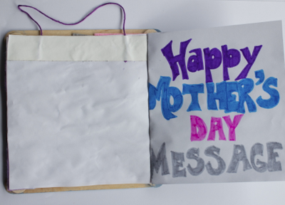 Final message and picture frame