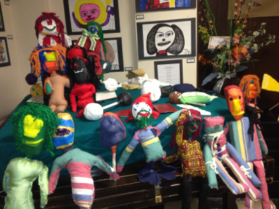 Lots of puppets.