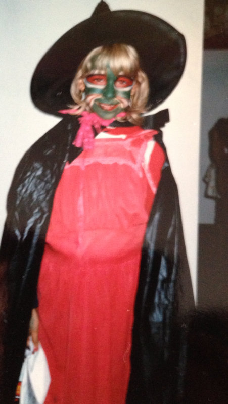 Kelley Dressed as a Witch