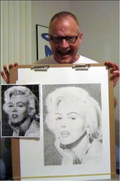 Figure 18: Marylin Monroe and Me.