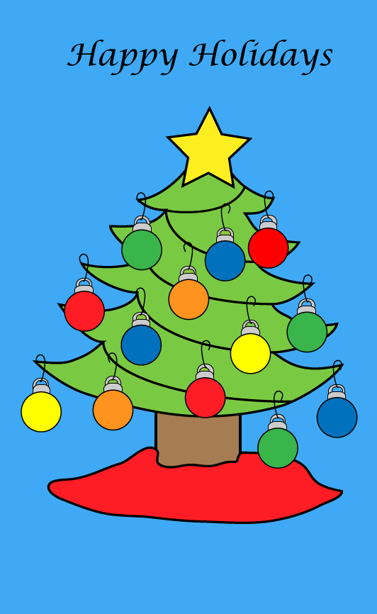 Holiday Card Example
