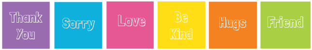 Kindness stickers