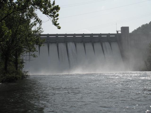 Norfork Dam Graph