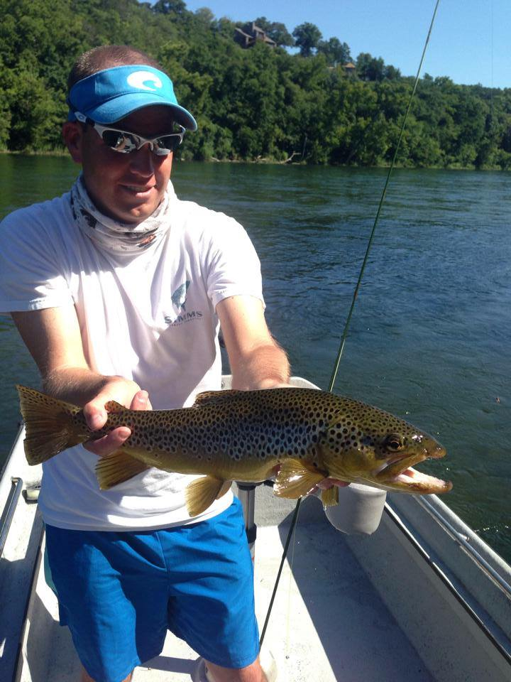 Scott with a solid hopper brown