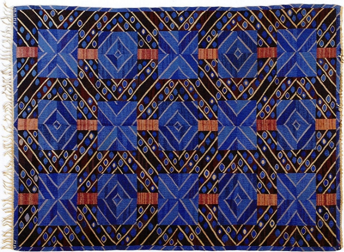 Mariane Richter, Stralarna Flatweave Carpet , 1949
