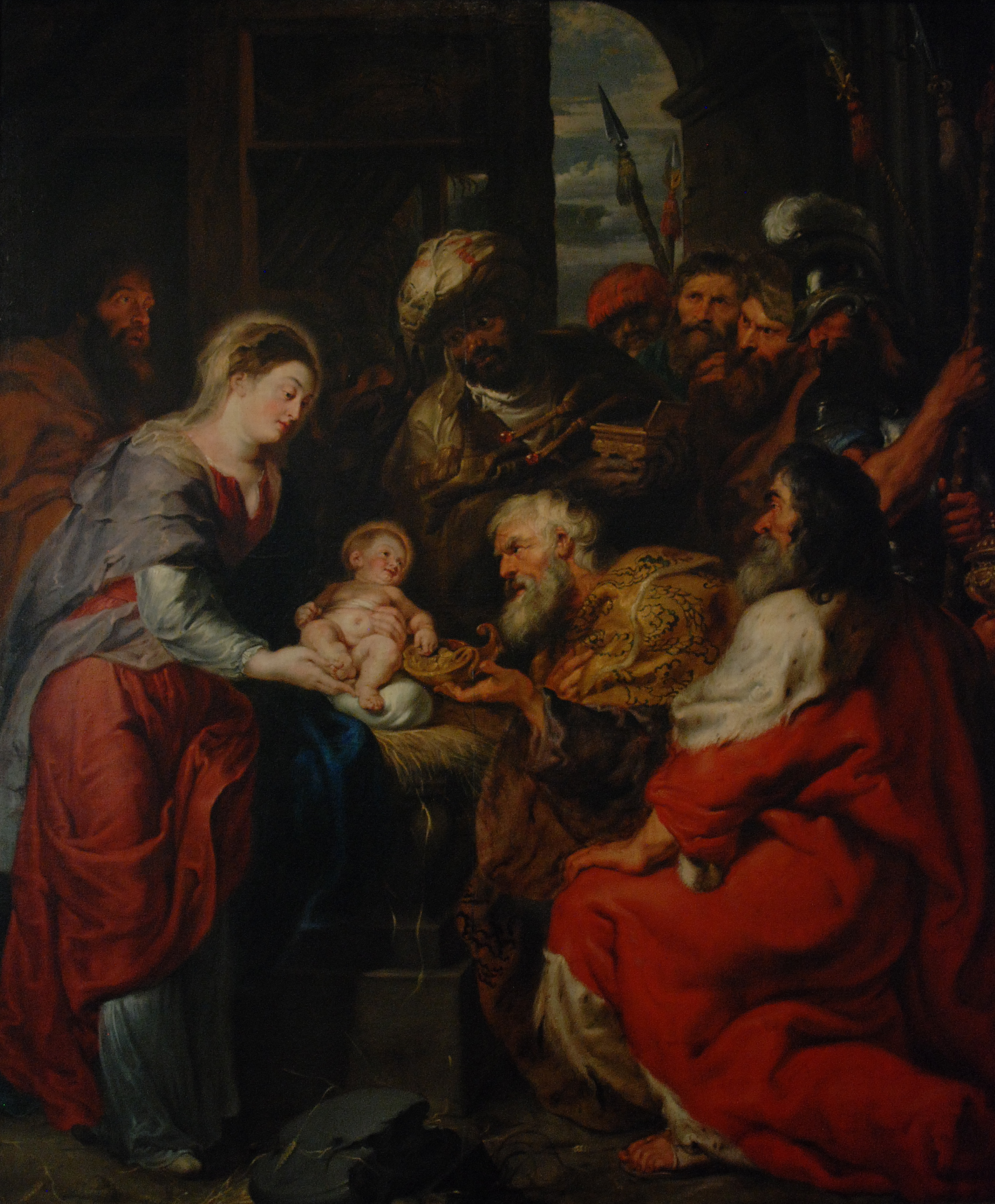 Peter Paul Rubens, Adoration of the Magi, 1626-27