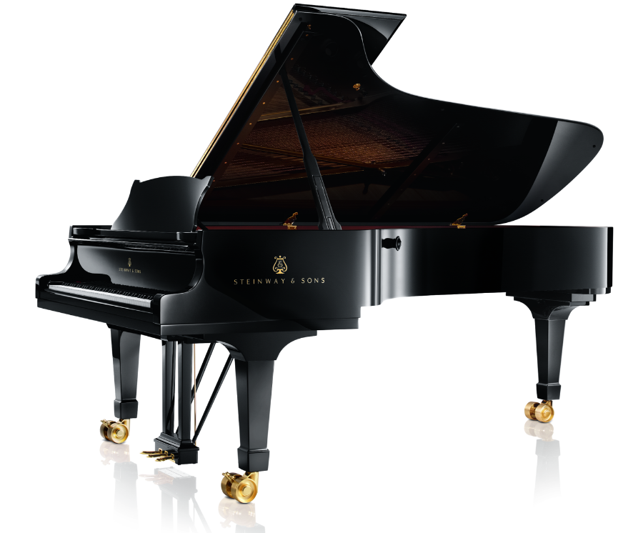 Steinway Grand Piano,   Photo: © Copyright Steinway & Sons via Wikimedia Commons