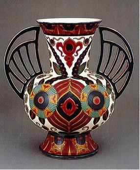Zsolnay Manufactory,  Winged Vase  , 1882
