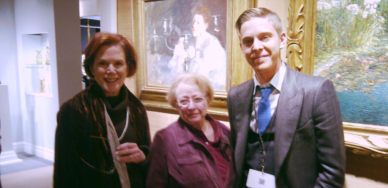 Fran Zeman , Ellen Epstein and Alan Adelson