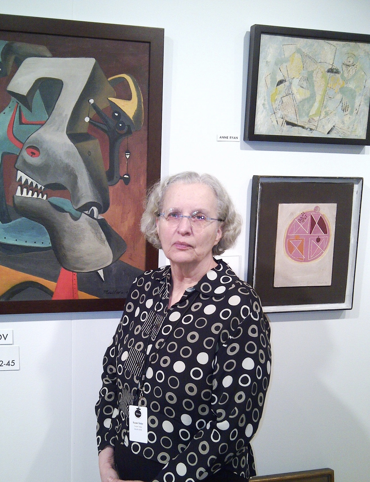 Susan Teller, Director of Susan Teller Gallery