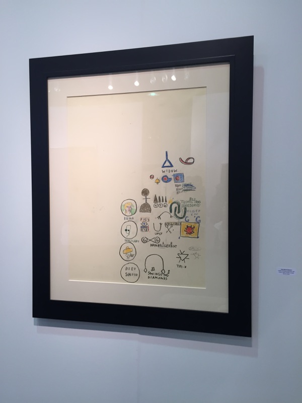 Untitled drawing by Jean-Michel Basquiat - The Armory Show