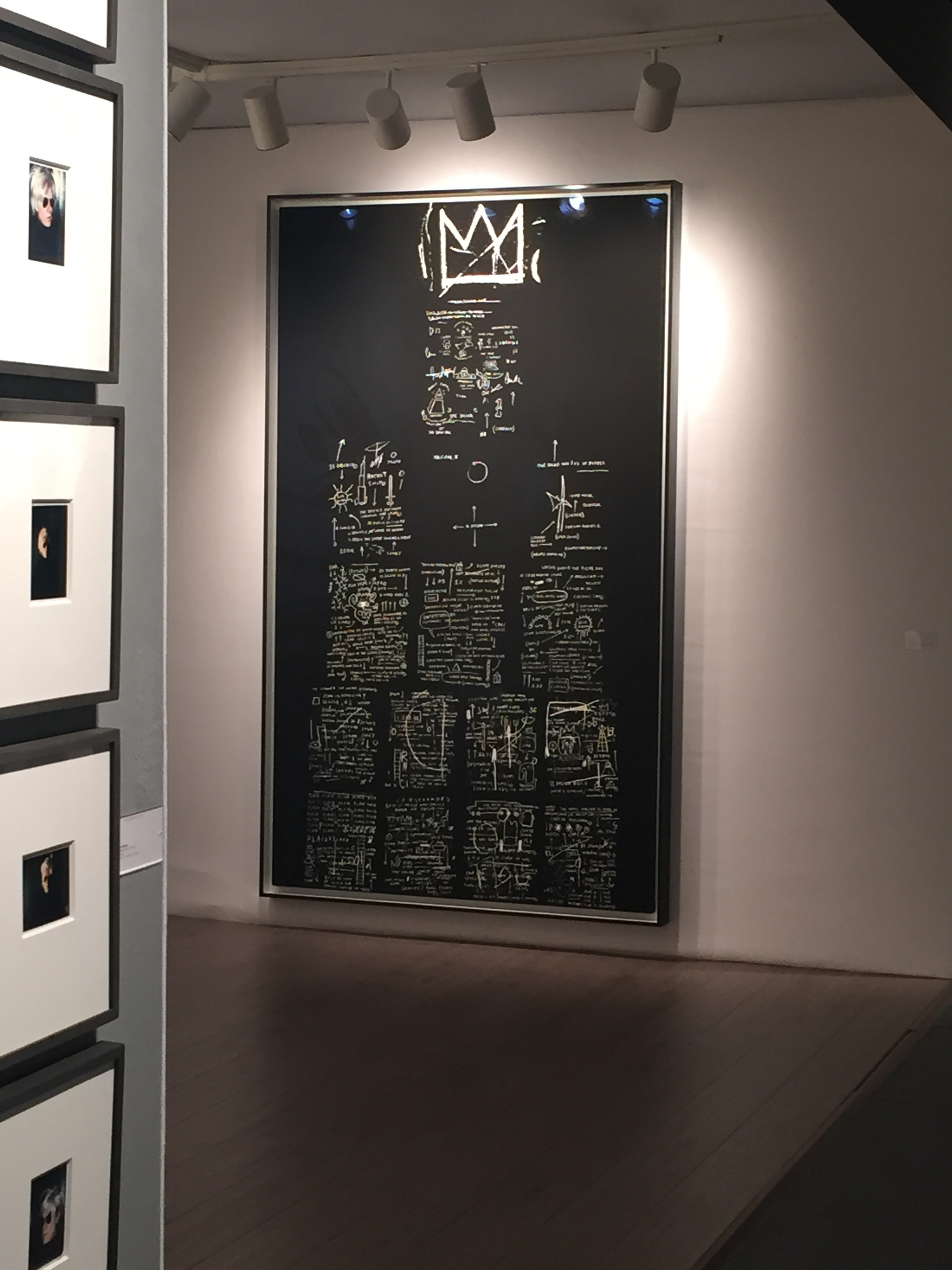 Drawing by Basquiat - ADAA Show