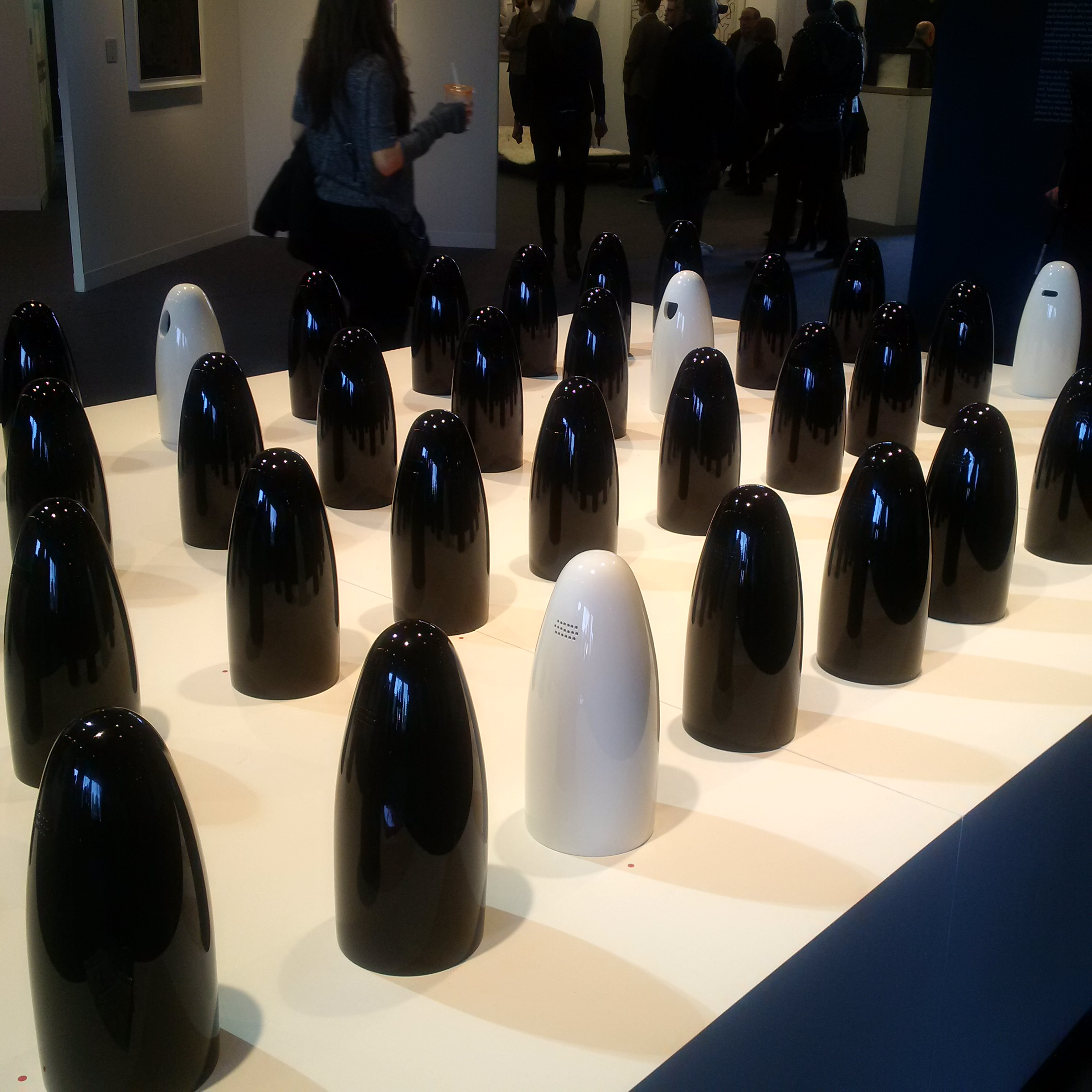 Arab Dolls by Carlo Massoud presented by Carwan Gallery - The Armory Show
