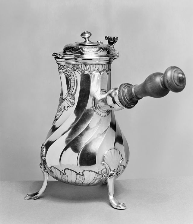 Joseph-Théodore Van Cauwenbergh Chocolate Pot Walters
