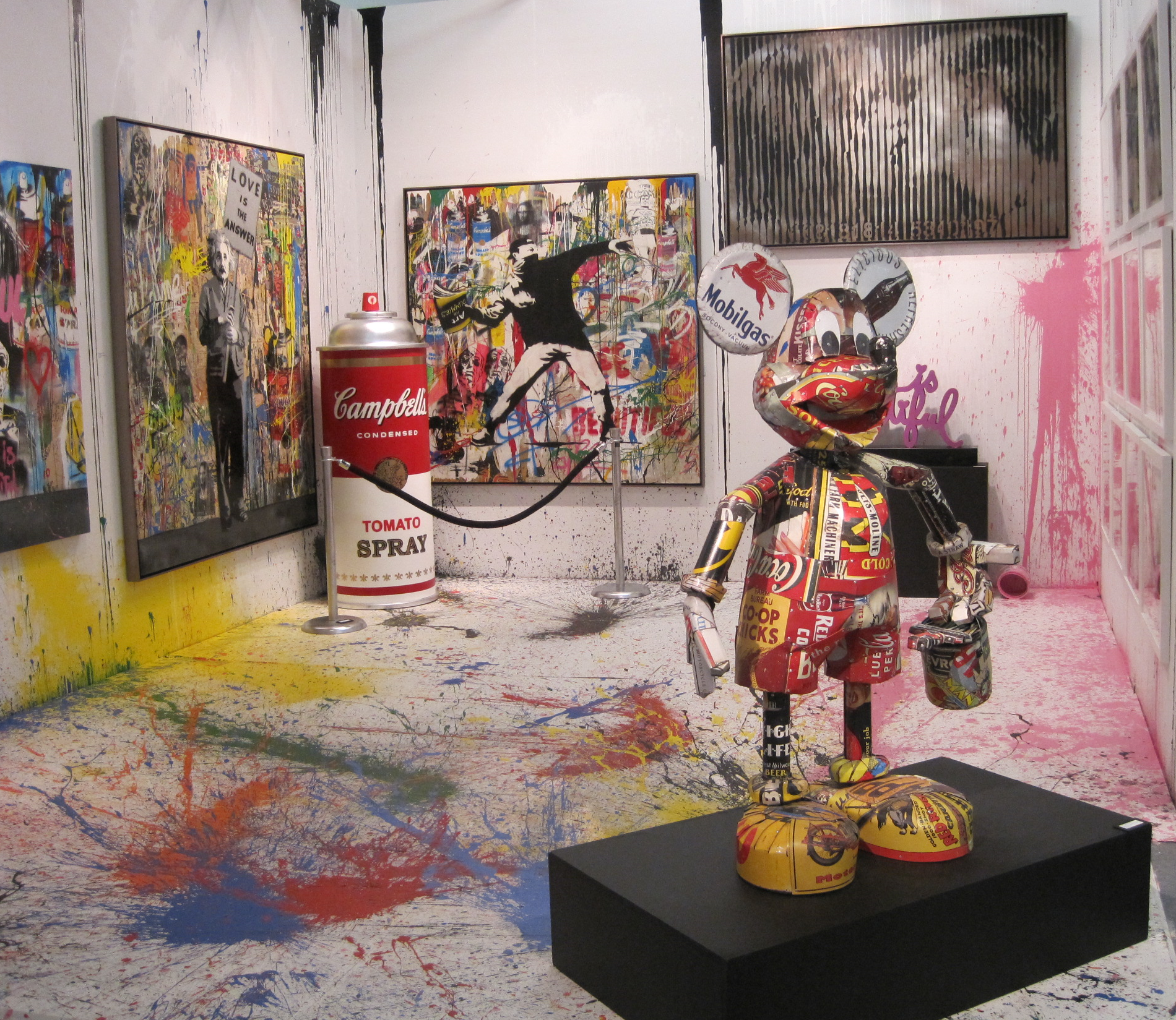 ART MIAMI      Mr. Brainwash At Contessa Gallery, Cleveland