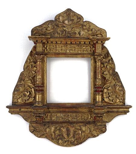 Tondo mirror frame, ca. 1480