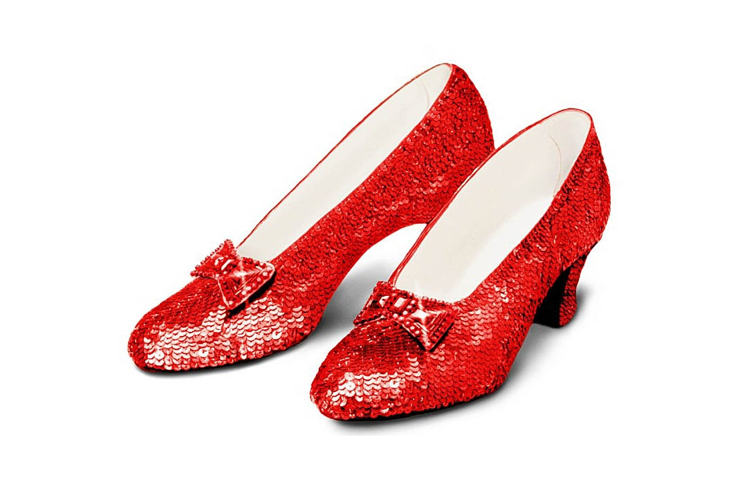 Ruby Slippers, From The Wizard of Oz, Appraised by OTE