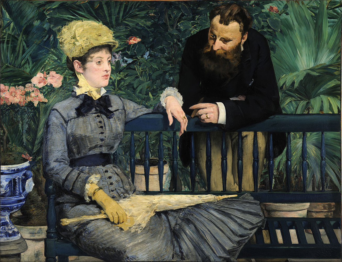 Édouard Manet, In the Conservatory