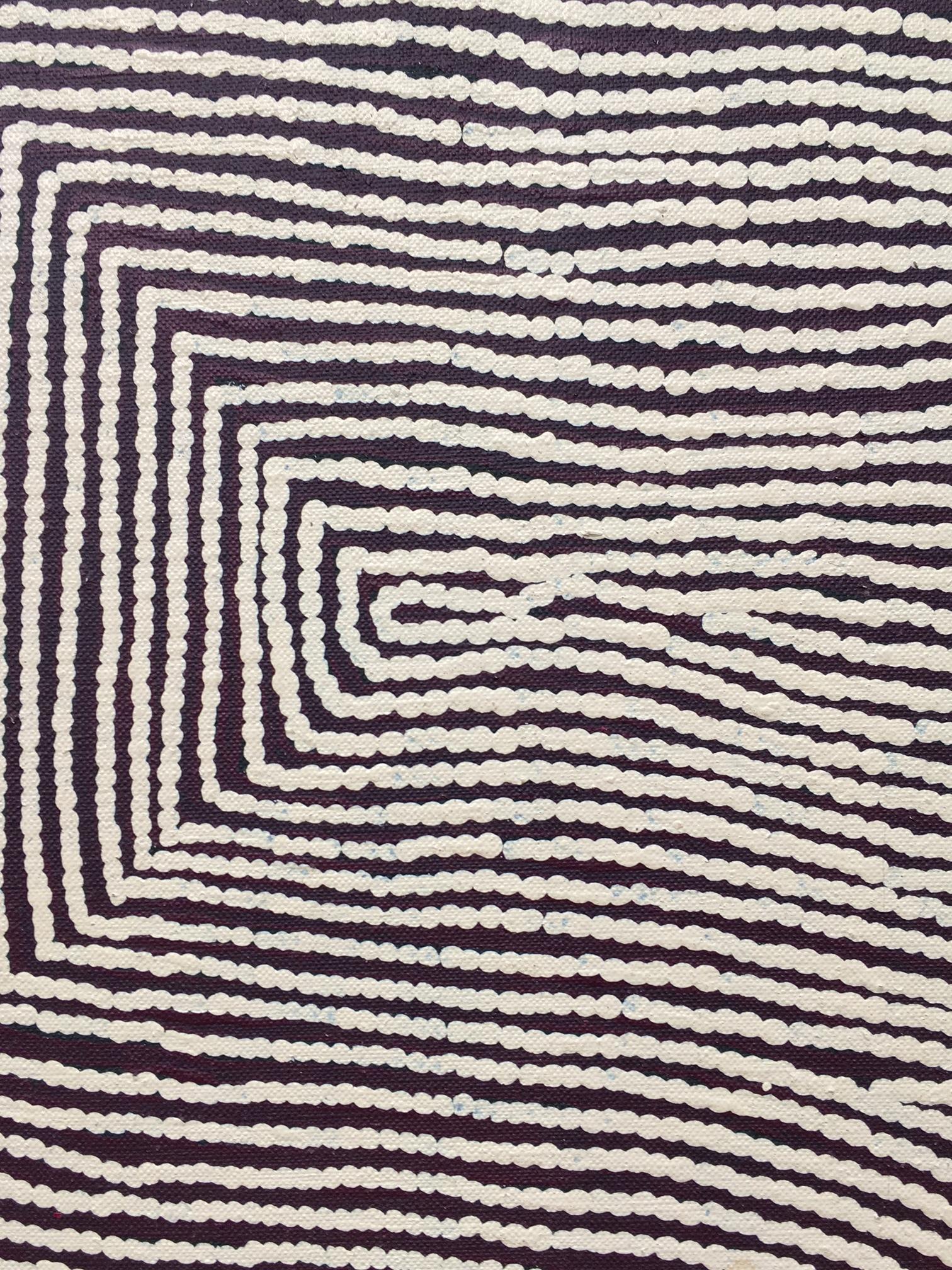 Warlimpirrnga Tjapaltjarri,Untitled, 2015, Acrylic on linen, 244 x 183 cm, Salon 94