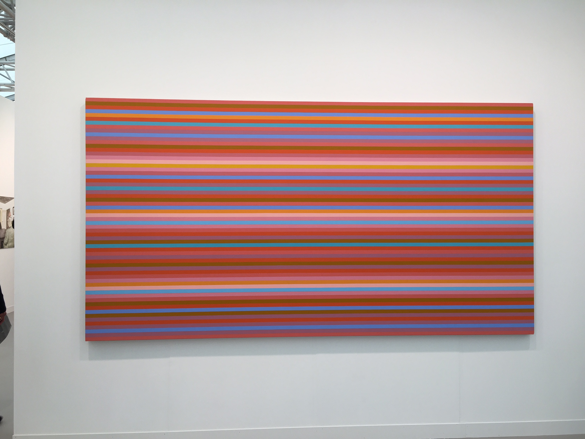 A painting by Bridget Riley, £700,00 (sold, but they have another painting by her in their gallery!)